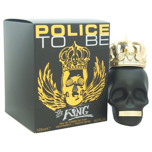 Police To Be The King Men's 4.2-ounce Eau de Toilette Spray
