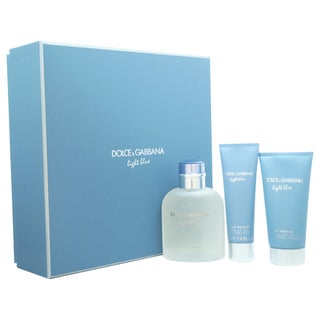 Dolce & Gabbana Light Blue Men's 3-piece Gift Set