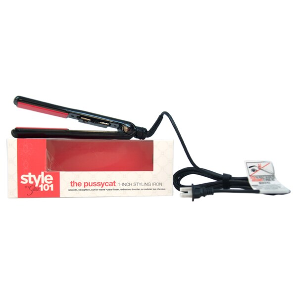 Sultra Style 101 The Pussycat Black 1-inch Flat Iron