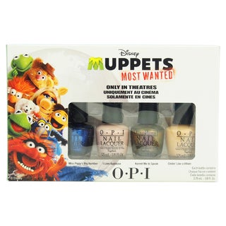 OPI Disney Muppets Most Wanted Mini 4-piece Set