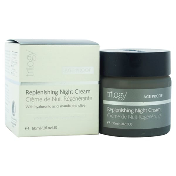 Trilogy Age Proof Replenishing Night 2-ounce Cream