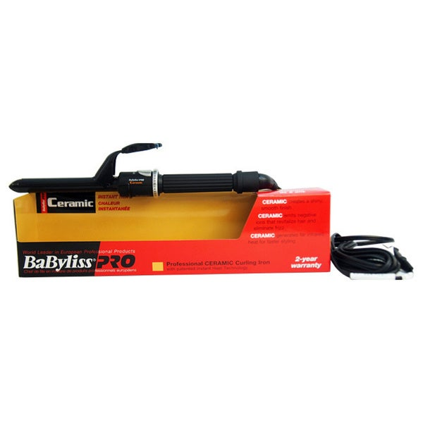 BaByliss PRO Professional Ceramic Curling Iron