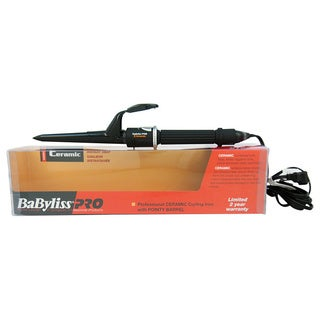 BaByliss Professional Ceramic Curling Iron with Pointy Barrel