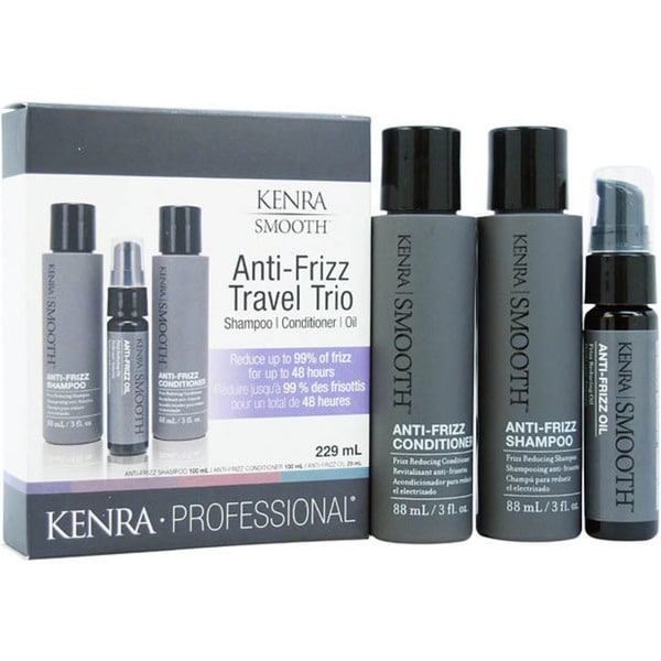 Kenra Smooth Anti-Frizz Travel Trio Kit
