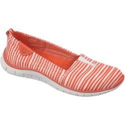 Women's Dr. Scholl's Andie Grenadine/White Striped Twill