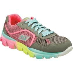 Girls' Skechers GOrun ride Ultra Gray/Multi