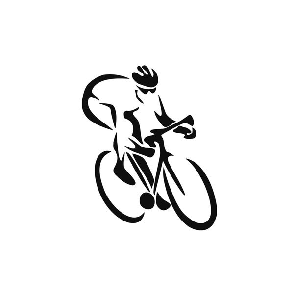 Bicycle Racing Vinyl Wall Art