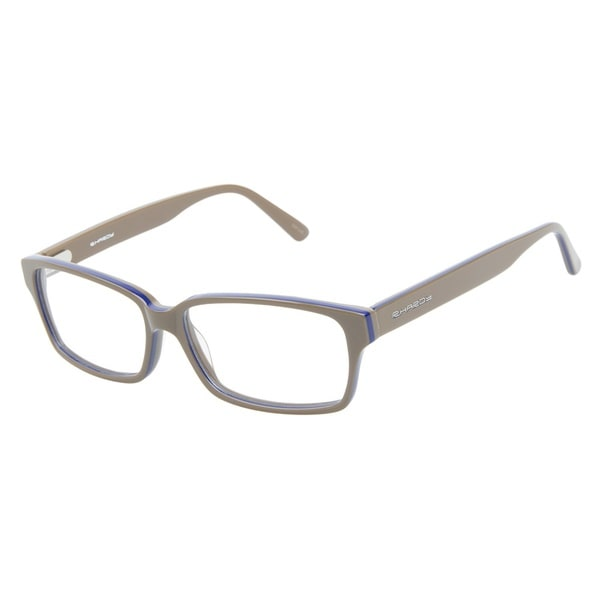 R. Hardy 9027 Taupe Blue Prescription Eyeglasses