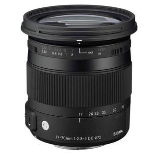 Sigma 17-70mm f/2.8-4 DC Macro OS HSM Lens for Nikon