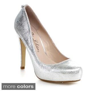 Blossom Summer-5 Women's Almond Toe Slip On Stiletto Heel