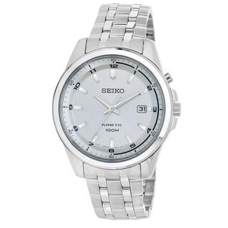 Seiko Men's SKA629 'Core' Stainless Steel Power Reserve Watch