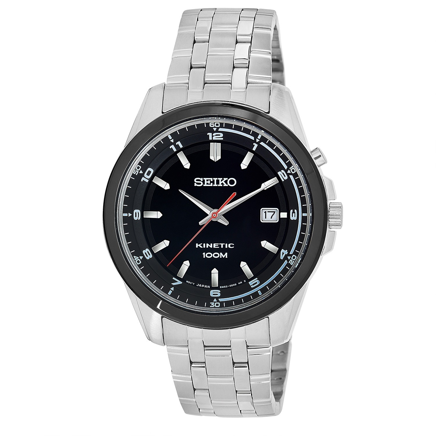 Seiko Men's SKA635 'Core' Stainless Steel Power Reserve Watch at Sears.com