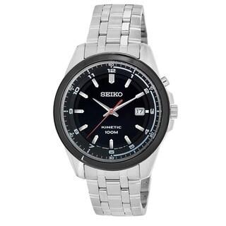 Seiko Men's SKA635 'Core' Stainless Steel Power Reserve Watch
