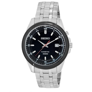 Seiko Men's SKA635 'Core' Stainless Steel Power Reserve Watch