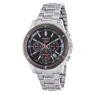 Seiko Men's SSB111 Stainless Steel Chronograph Watch