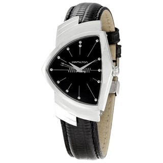 Hamilton Men's H24411732 American Classics Black Dial Watch