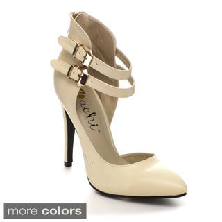 Machi Azusa-1 Women's Strappy Pointy Toe High Heels