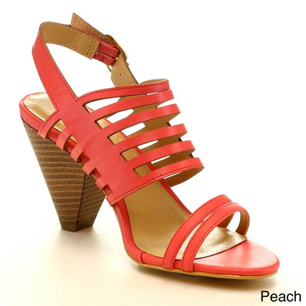 Mark & Maddux Azealia-09 Women's Fashion Sling Back Strappy Sandals Sexy Shoes