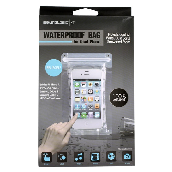 SoundLogic Universal iPad/iPad Mini Clear Waterproof Bag Case