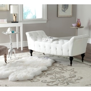 Safavieh Georgette White Bench