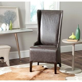 Safavieh Becall Antique Brown Dining Chair