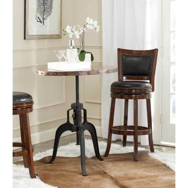 Safavieh Nesta Black Crank Table