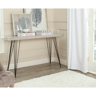 Safavieh Wolcott Taupe/ Black Lacquer Console