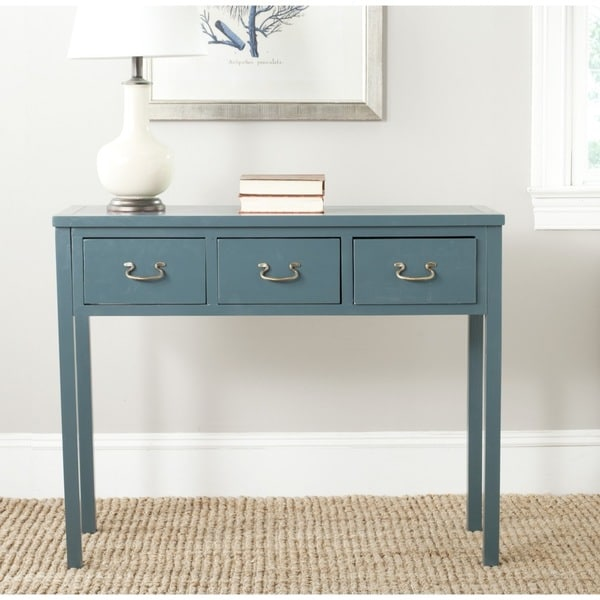 Safavieh Cindy Teal Console