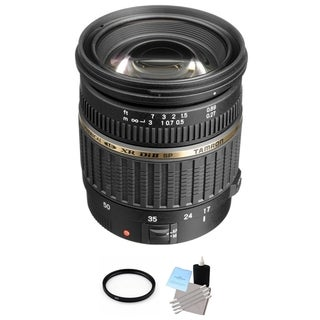 Tamron SP AF 17-50mm f/2.8 XR Di II LD Aspherical IF AF Zoom Super Wide Angle Lens for Canon Bundle