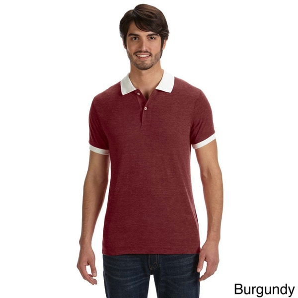 Alternative Men's Feeder Stripe Polo Shirt