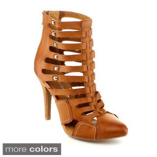 Nature Breeze Paris-02 Women's High Heel Gladiator Sandal