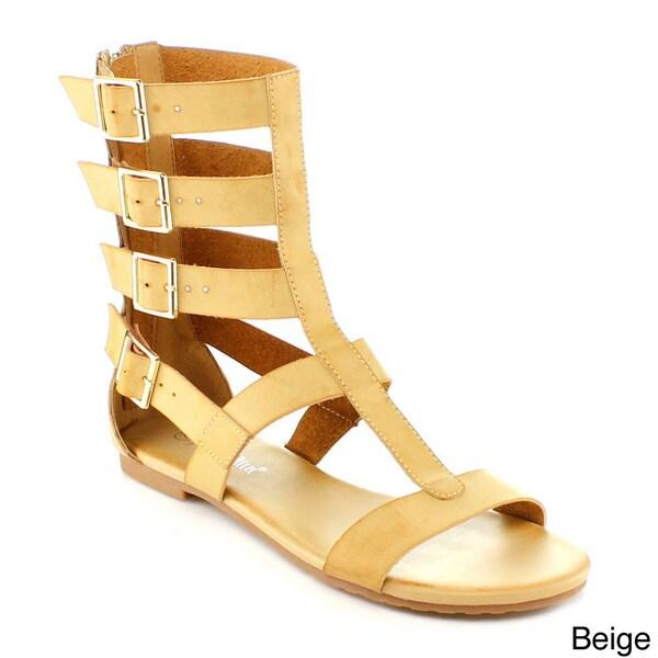 Nature Breeze Rome-04 Women's High Gladiator Sandal