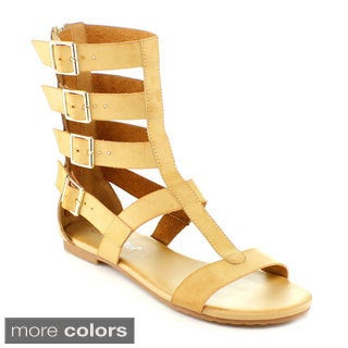 Nature Breeze Rome-04 Women's High Gladiator Sandal