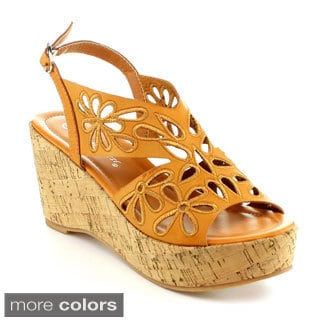Nature Breeze Zurich-01 Women's Elegant Wedge Sandal