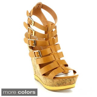 Nature Breeze Barcelona-01 Women's Wedge Sandal