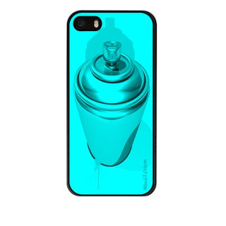 Maxwell Dickson 'CMYK, Cyan' Phone Case for Apple and Samsung