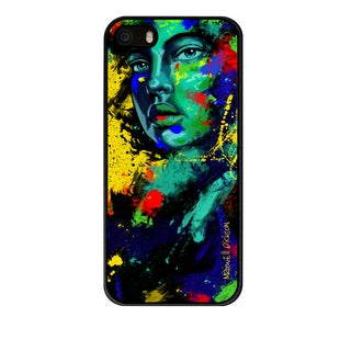 Maxwell Dickson 'Blue Eyed Girl' Phone Case for Apple and Samsung