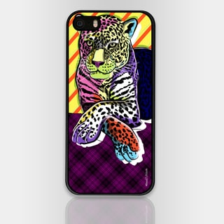 Maxwell Dickson 'Cat Colors' Phone Case for Apple and Samsung