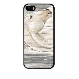 Maxwell Dickson 'White Horse' Phone Case for Apple and Samsung
