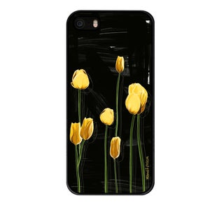 Maxwell Dickson 'Yellow Tulip' Phone Case for Apple and Samsung