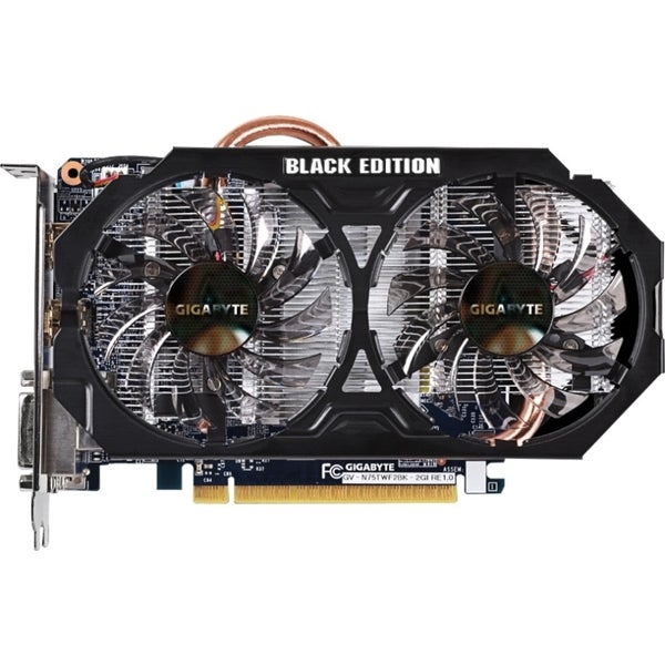 Gigabyte GV-N75TWF2BK-2GI GeForce GTX 750 Ti Graphic Card - 1.03 GHz