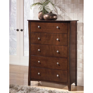Signature Designs by Ashley Rayville Medium Brown 5-drawer Chest