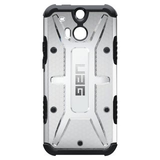 Urban Armor Gear Case for HTC One M8 w/ Screen Protector - Ice