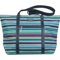 Women's Hadaki by Kalencom Cosmopolitan Tote Dixie Stripes