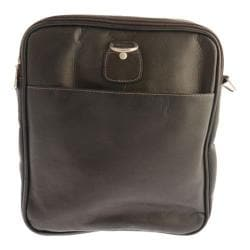 Piel Leather Collapsible Duffel To Carry-All 3010 Chocolate Leather