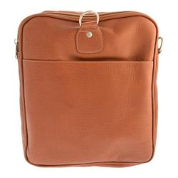 Piel Leather Collapsible Duffel To Carry-All 3010 Saddle Leather