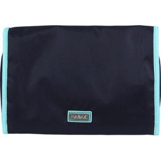 Women's Hadaki by Kalencom Toiletry Pod Roll-Up Navy/Aqua