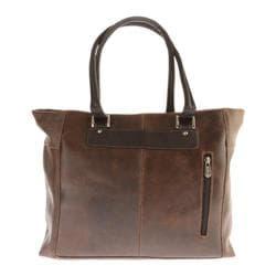 Piel Leather Vintage Executive Tote 2983 Vintage Brown Leather