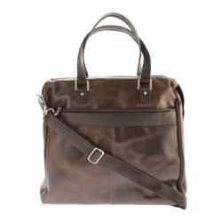 Piel Leather Vintage Travel Tote 2971 Vintage Brown Leather