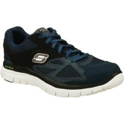 Men's Skechers Flex Advantage Master Plan Navy/Black
